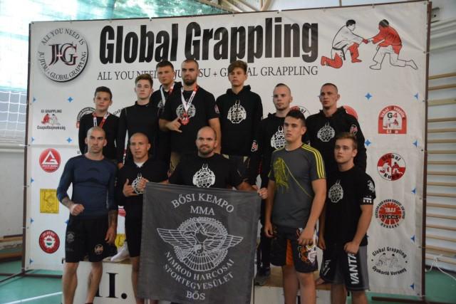 A Bősi Kempo MMA Klub versenyzői a Hatvan Bajnokságon