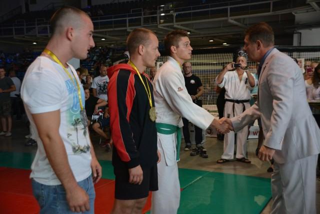 A Gi Grappling Férfi 70 kg kategória győztesei