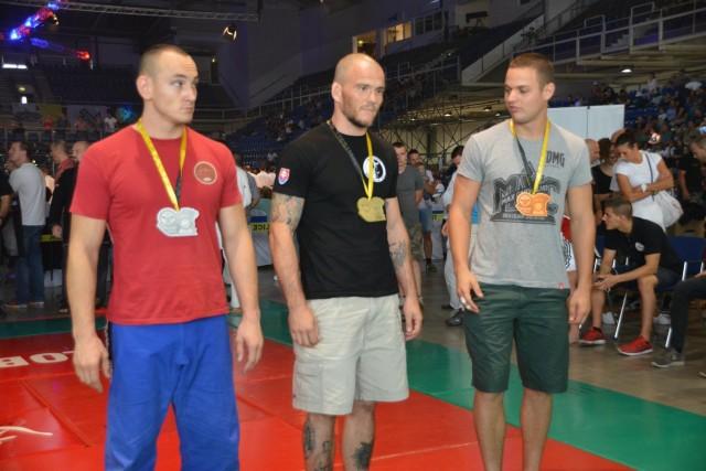 A Gi Grappling Férfi 85 kg kategória győztesei