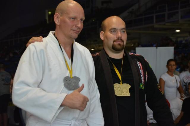 A Gi Grappling Férfi 105+ kg kategória győztesei