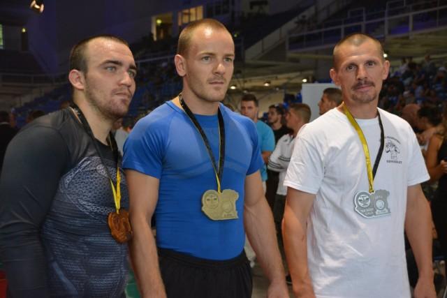 A NoGi-Cage Grappling Férfi 70 kg kategória győztesei