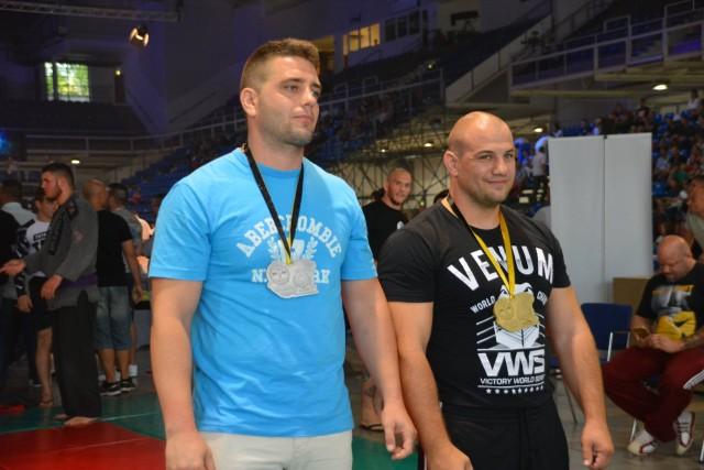 A NoGi-Cage Grappling Férfi 95 kg kategória győztesei