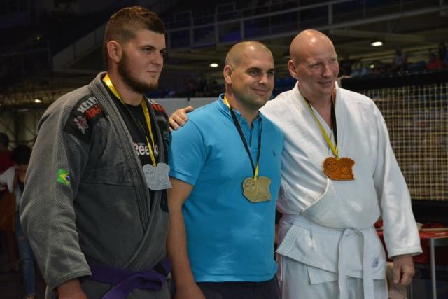 A NoGi-Cage Grappling Férfi 105 kg kategória győztesei