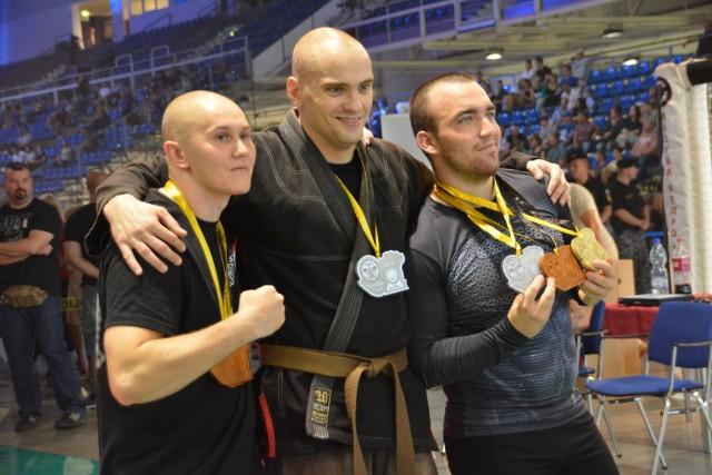 A Combat Grappling Férfi 85 kg kategória győztesei