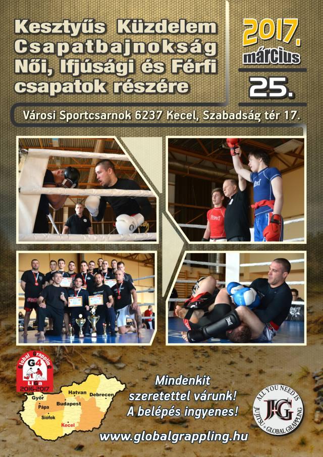 A Kesztyűs Küzdelem Csapatbajnokság plakátja