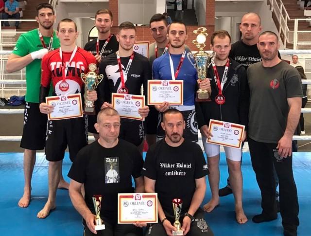 A Csapatbajnokság győztes Bács-Team csapatai