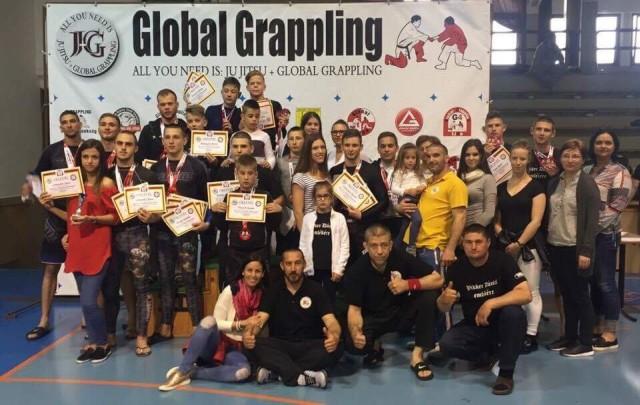 A Bács-Team csapata a Pápa 2017 Grappling Bajnokságon