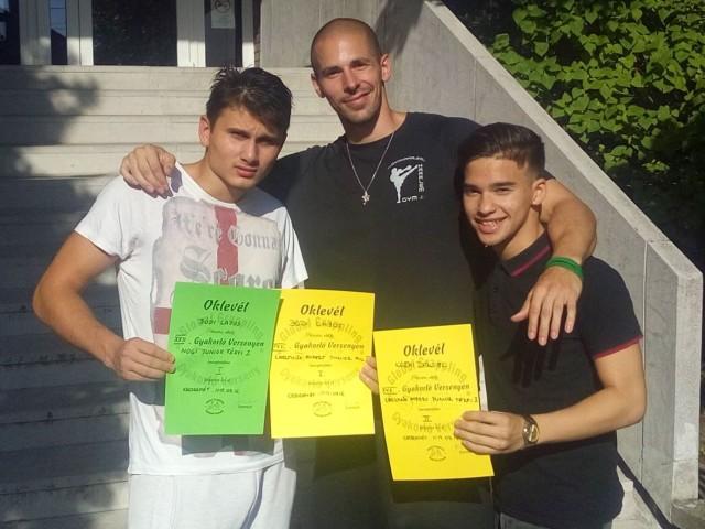 A Militans MMA csapata