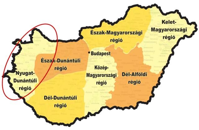 A Nyugat-Dunántúli régió versenye