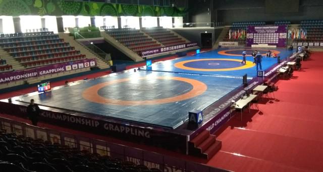 A verseny helyszíne a Baku Sport Hall