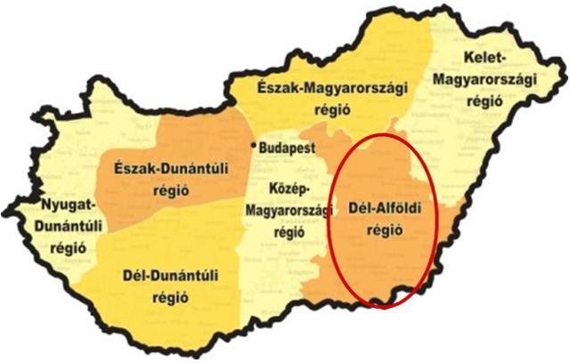 A Dél-Alföldi régió versenye