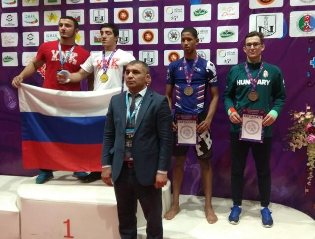 Mészáros Márk két bronzérmet nyert