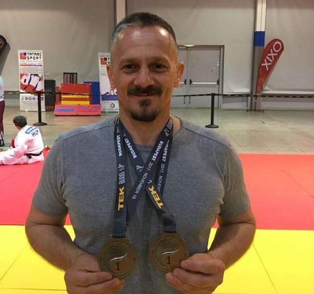 Paddi Attila megnyerte a Gi és a NoGi kategóriát is