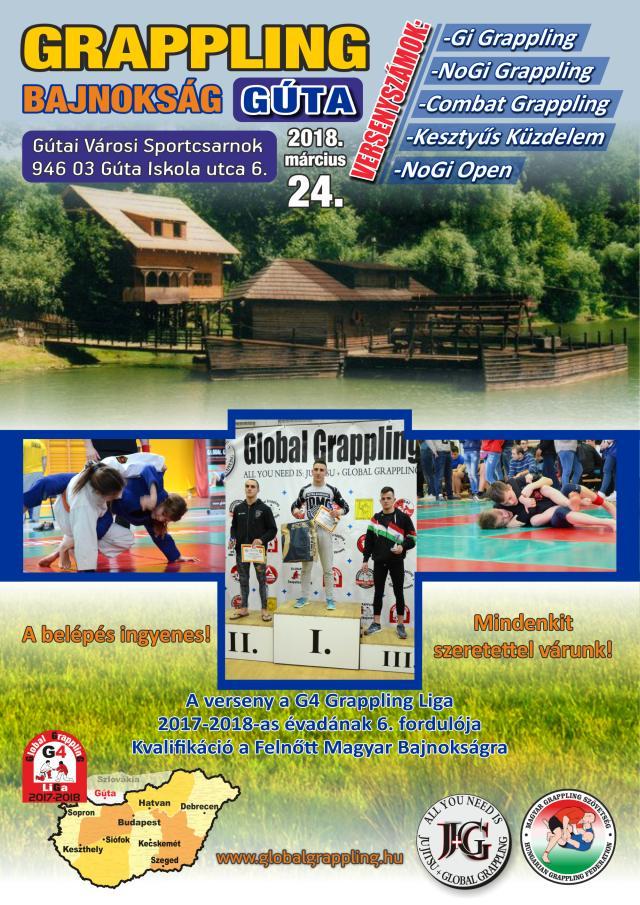 A Gútai verseny plakátja