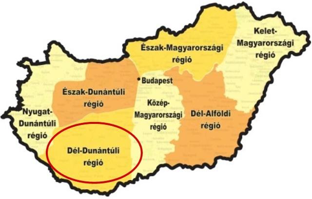 A Dél-Dunántúli régió versenye
