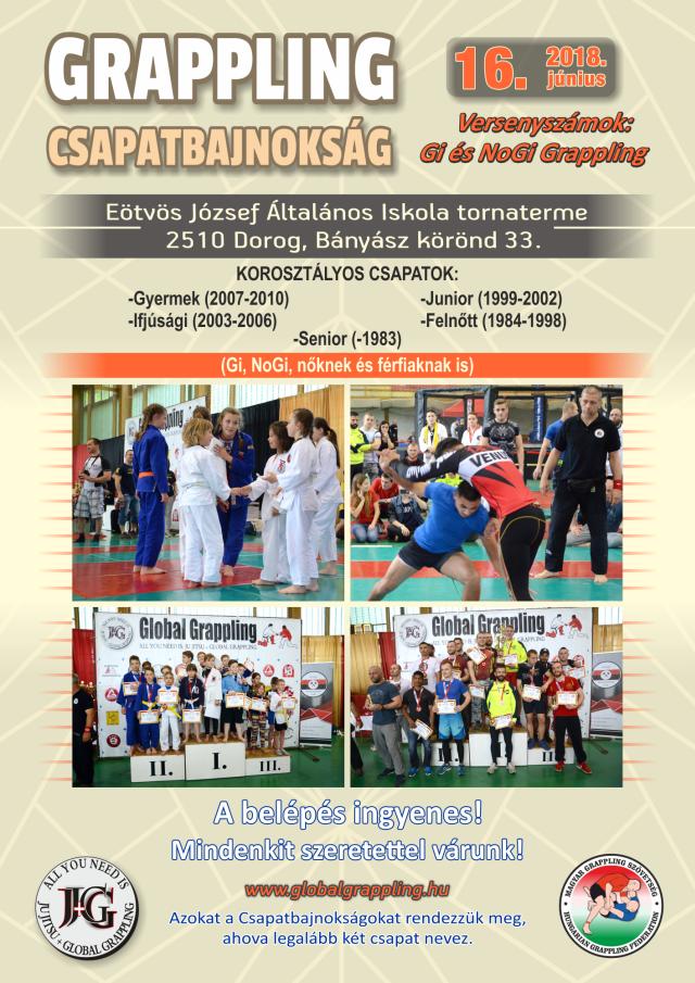 A Csapatbajnokság plakátja