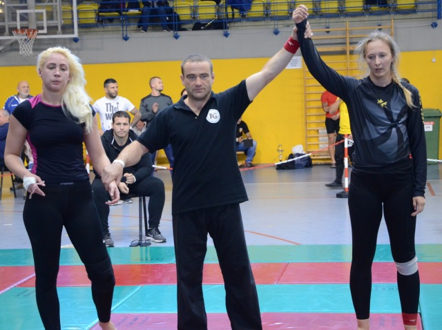 NoGi Női 71 kg. kategóriában Magyar Bajnok Katarina Kovanova