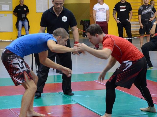 NoGi Férfi 66 kg. kategóriában Magyar Bajnok Csibi Gergely (balról)