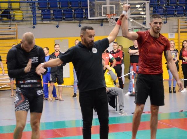 A NoGi Férfi 84 kg. kategóriában Magyar Bajnok Horváth Ádám