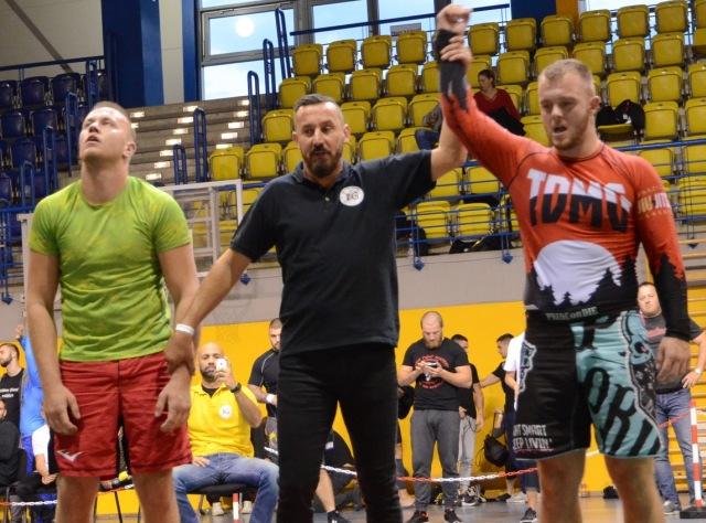 A NoGi Férfi 92 kg. kategóriában Magyar Bajnok Czibulka Dávid