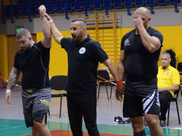 A NoGi Férfi 100+ kg. kategóriában Magyar Bajnok Bacsó Márió