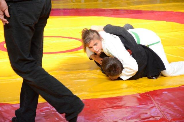 A megnyitó kiemelésre került Tóth Alexa ju jitsu Világkupa győzelme is