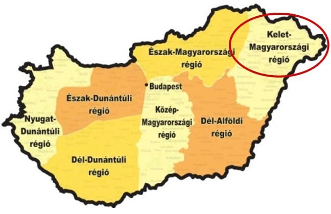A Kelet-Magyarországi régió versenye