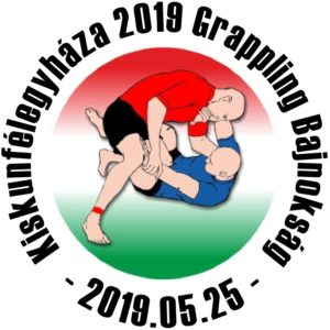 A Kiskunfélegyháza 2019 Grappling Bajnokság emblémája