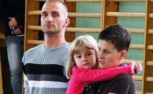 Adrienn, Bíborka és Gergely