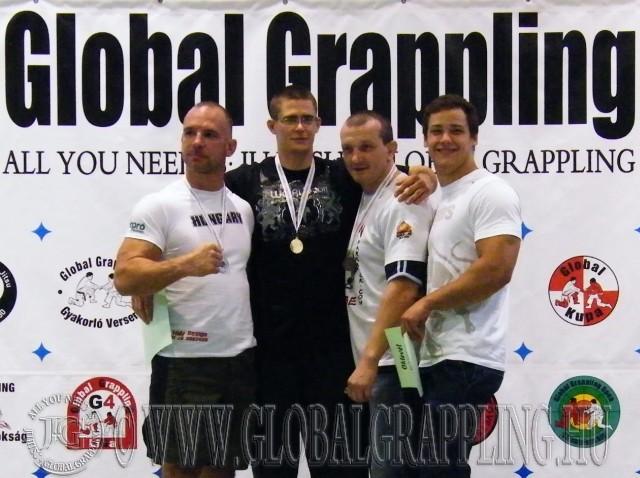 A Nogi Grappling Felnőtt 95 kg dobogósai