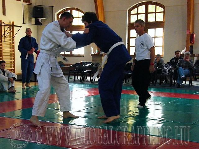 Muhari Benjamin és Kovács krisztián küzdelme a 75 kg-ban
