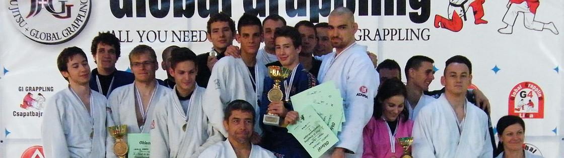 Dobogón a II. Gi Grappling csapatbajnokság helyezettjei