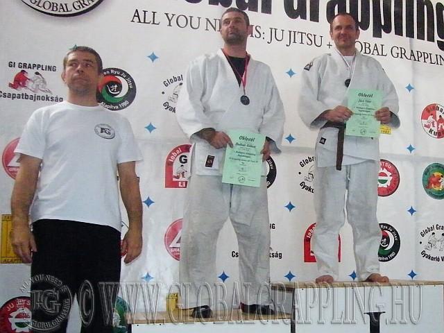 Gi Grappling Senior 40 Férfi 95 kg. kategória dobogója