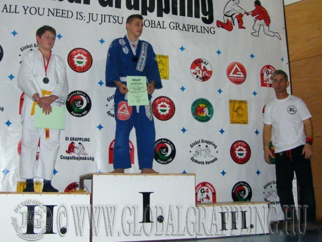 Gi Grappling Junior Fiú 66 kg. kategória dobogója