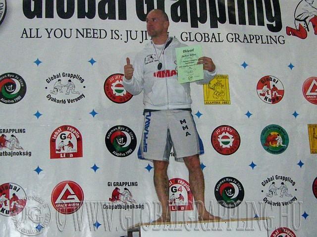 NoGi Grappling Senior Férfi 85 kg. kategória dobogója