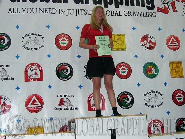 NoGi Grappling Junior Leány 61 kg. kategória dobogója