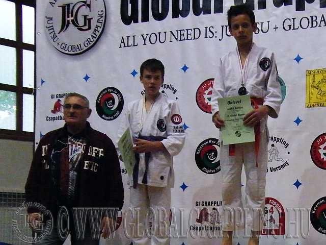 Gi Grappling Junior Fiú 52 kg. dobogója