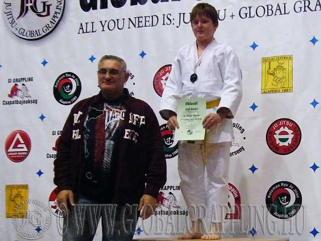 Gi Grappling Junior Fiú 66 kg. dobogója