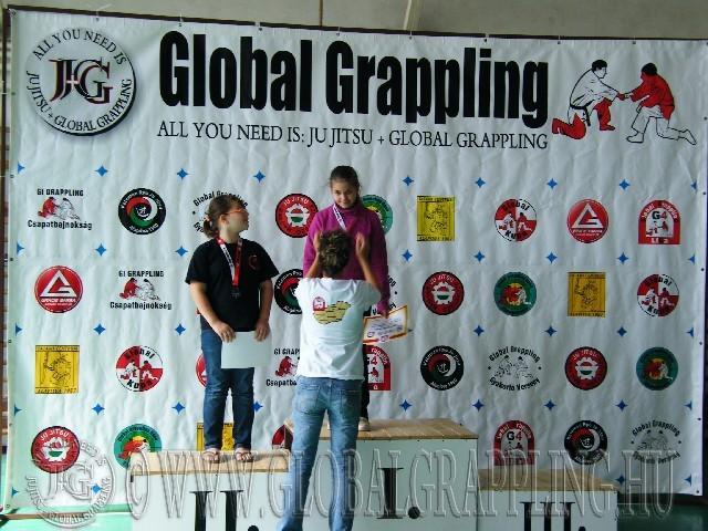 Gi Grappling Gyermek2 Leány 40+ dobogója