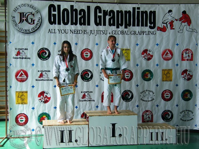 Gi Grappling Felnőtt Női 57 kg. dobogója