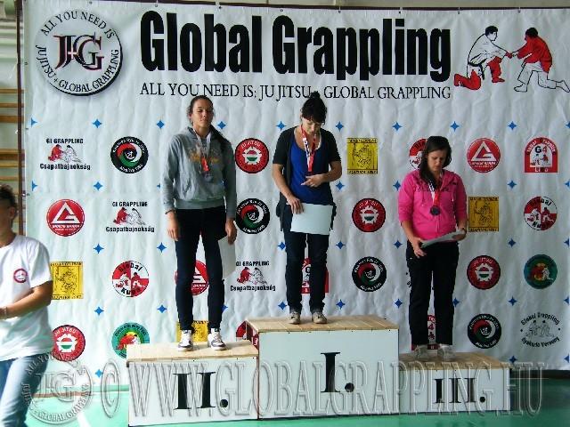 Gi Grappling Felnőtt Női 71 kg. dobogója