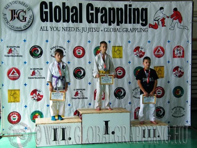 Gi Grappling Ifjúsági1 Fiú 41 kg. dobogója