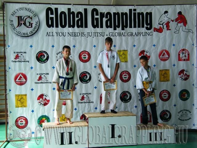Gi Grappling Ifjúsági1 Fiú 47 kg. dobogója