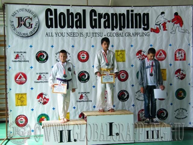 Gi Grappling Ifjúsági1 Fiú 59 kg. dobogója