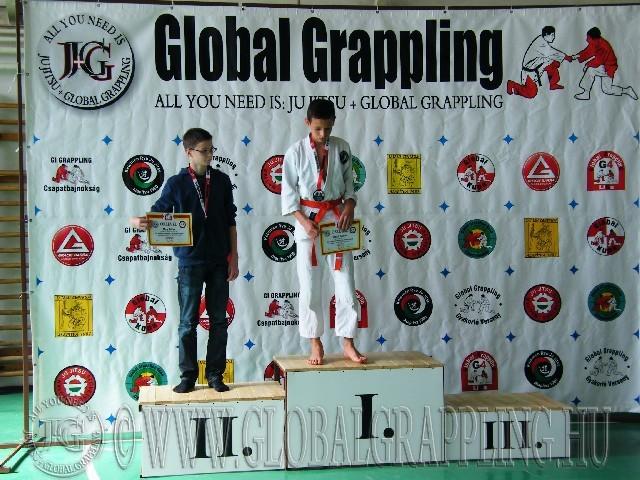 Gi Grappling Ifjúsági2 Fiú 52 kg. dobogója