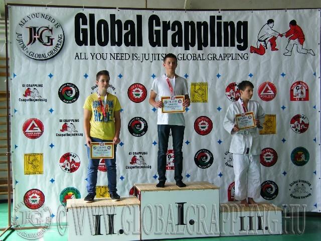 Gi Grappling Ifjúsági2 Fiú 59 kg. dobogója