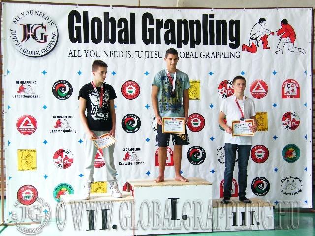 NoGi Grappling Ifjúsági2 Fiú 66 kg. dobogója