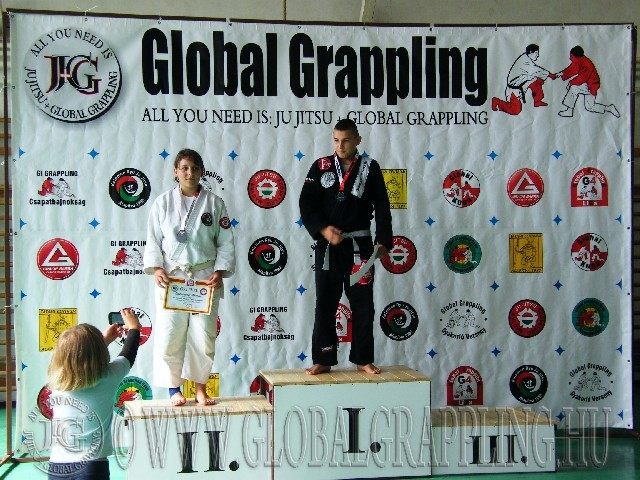 Gi Grappling Ifjúsági2 Fiú 73 kg. dobogója