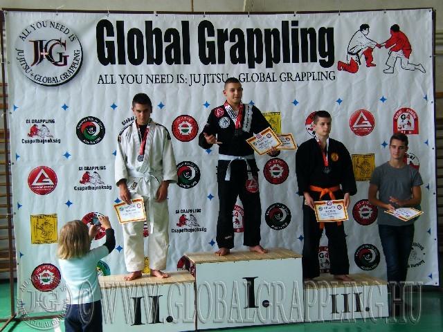 Gi Grappling Junior Fiú 71 kg. dobogója