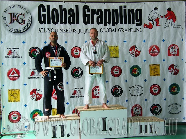 Gi Grappling Senior1 Férfi 85 kg. dobogója